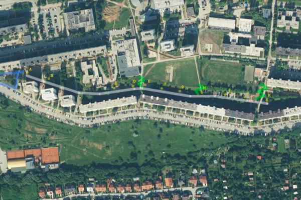 Spoločný plán X. – Lineárny park Wuppertálska